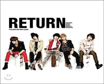 MUSIC PLAZA CD <strong>에프티 아일랜드 | FT Island</strong><br/>3rd Mini Album- Return