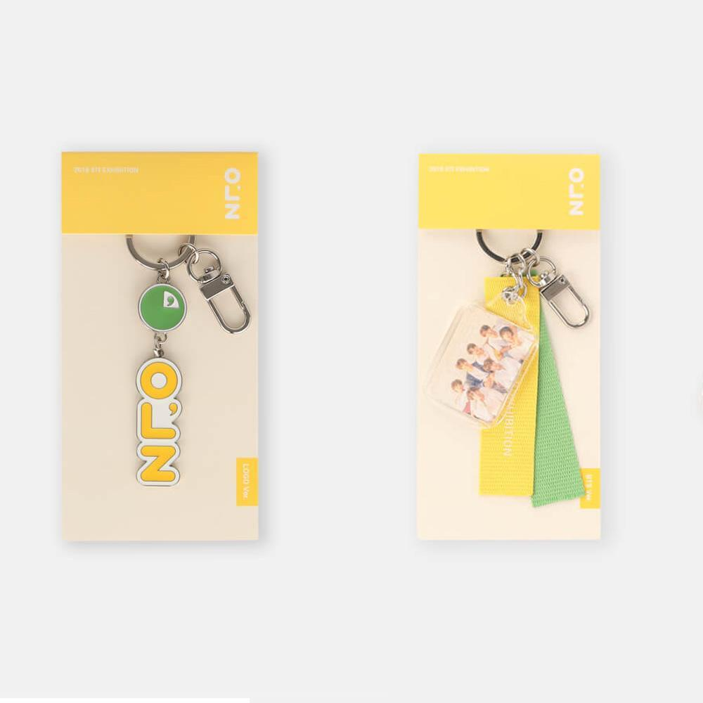 MUSIC PLAZA Goods LOGO VERSION BTS 2018 EXHIBITION [ KEYRING ] OFFICIAL MD