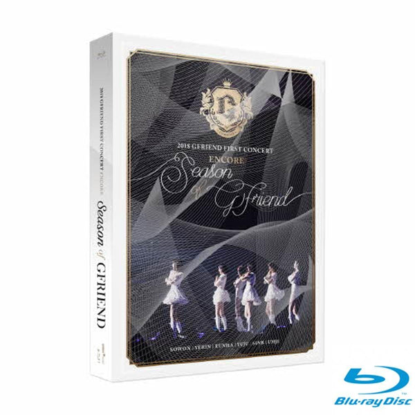 MUSIC PLAZA DVD 여자친구 GFRIEND 2018 GFRIEND FIRST CONCERT  [ Season of GFRIEND ] ENCORE Blu-ray