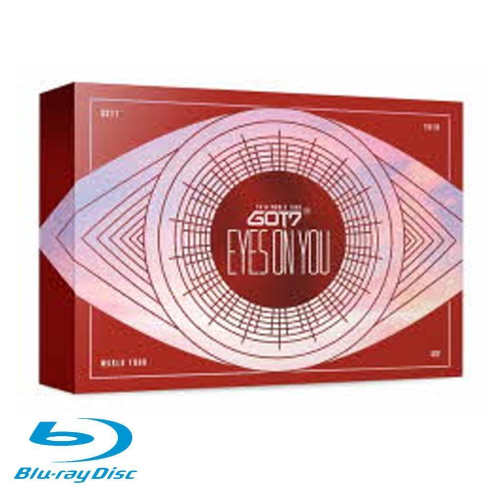 MUSIC PLAZA DVD 갓세븐 | GOT7 2018 WORLD TOUR [ EYES ON YOU ] Blu-ray