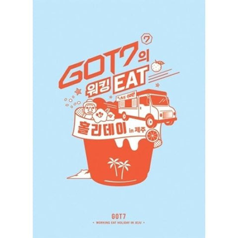 GOT7 | 갓세븐 | Working Eat Holiday in Jeju - 3DVD+PHOTOBOOK+PHOTOCARD