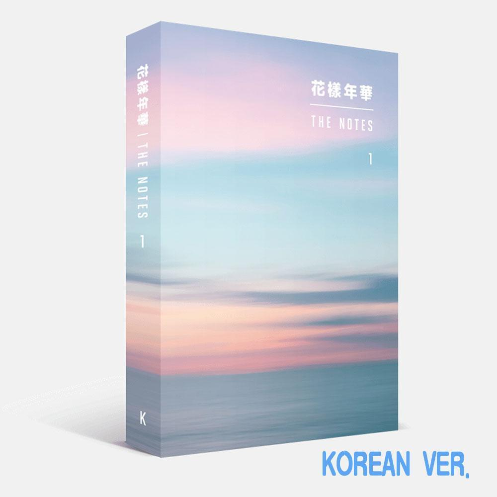 MUSIC PLAZA Photo Book BTS KOREAN VER. [ 花樣年華 THE MOST BEAUTIFUL MOMENT IN LIFE ] THE NOTES 1