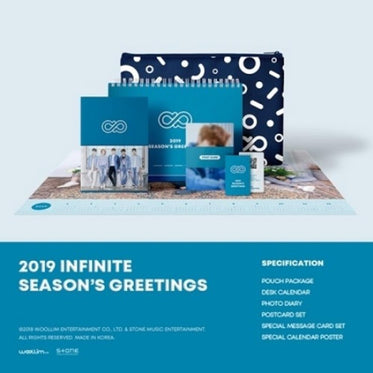 INFINITE [ 2019 INFINITE SEASON'S GREETINGS ]