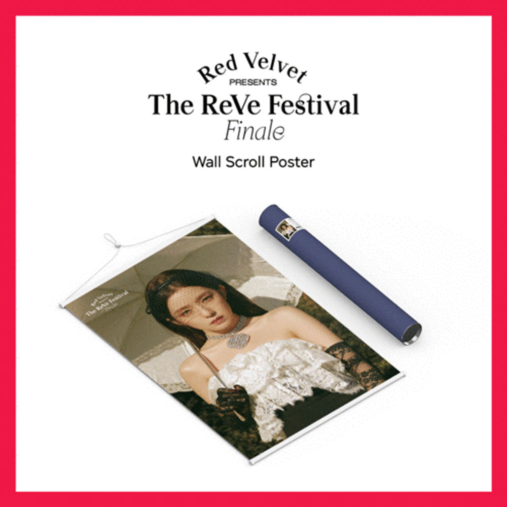 레드벨벳 | RED VELVET [  WALL SCROLL POSTER ]