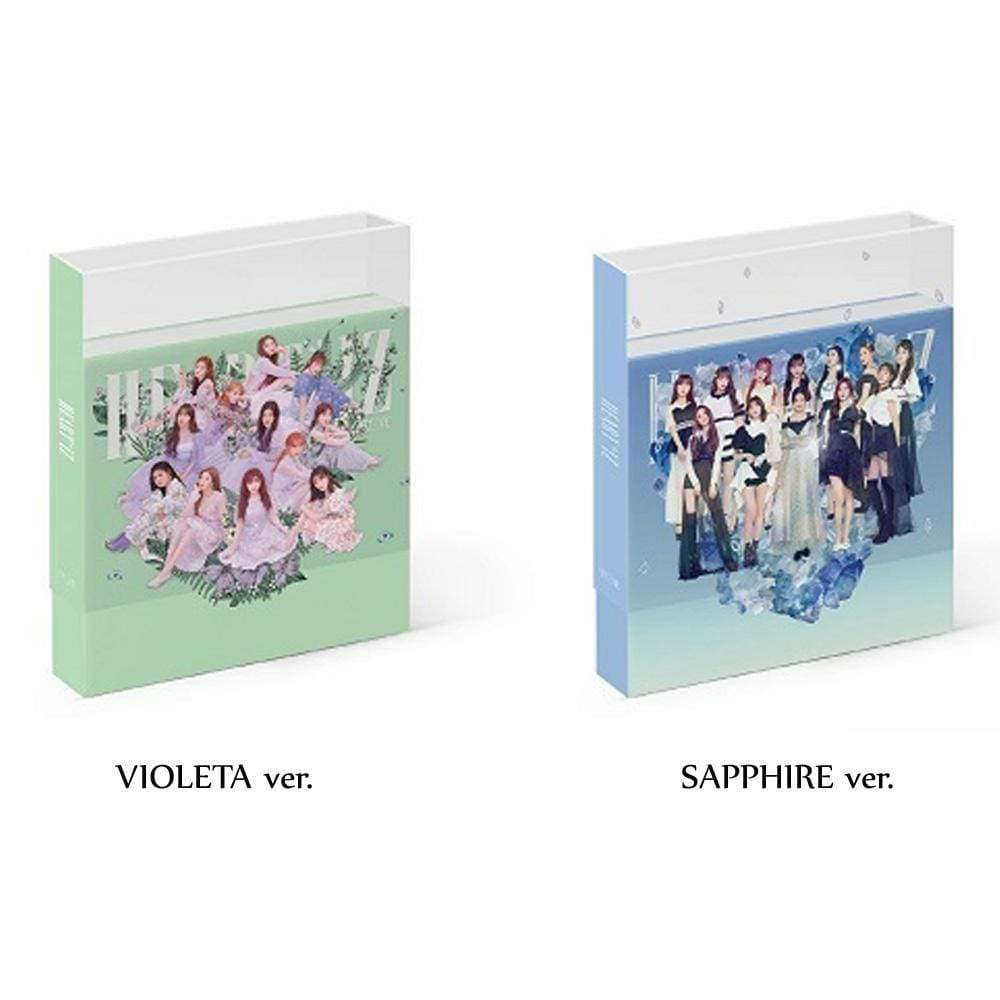 MUSIC PLAZA CD VIOLETA VER. 아이즈원 | IZ* ONE 2ND MINI ALBUM [ HEART*IZ ]