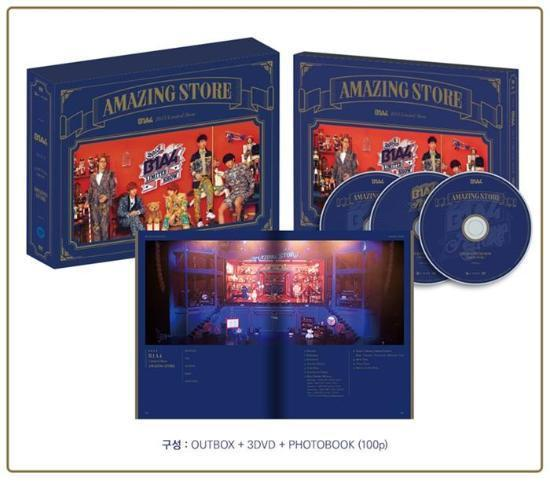 MUSIC PLAZA DVD B1A4 | 비원에이포 | 2014 LIMITED SHOW - AMAZING STORE DVD