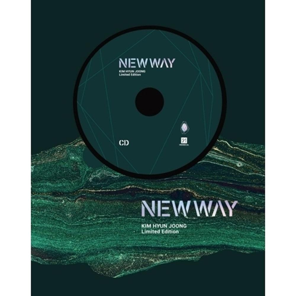김현중 | KIM HYUNJOONG  LIMITED EDITION [ NEW WAY  ] CD+DVD