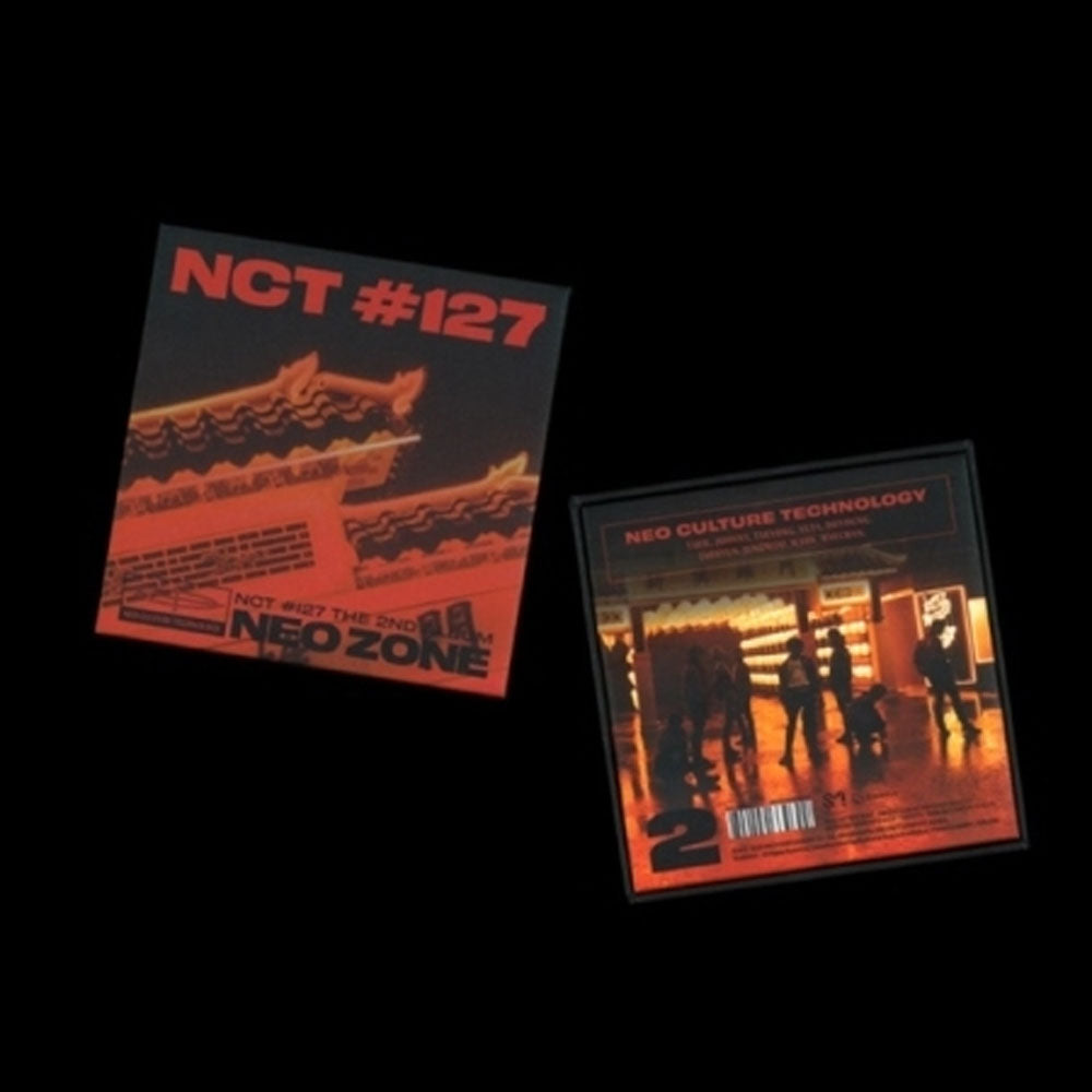 NCT127 2ND ALBUM [ NCT #127 NEO ZONE ] KIT ALBUM