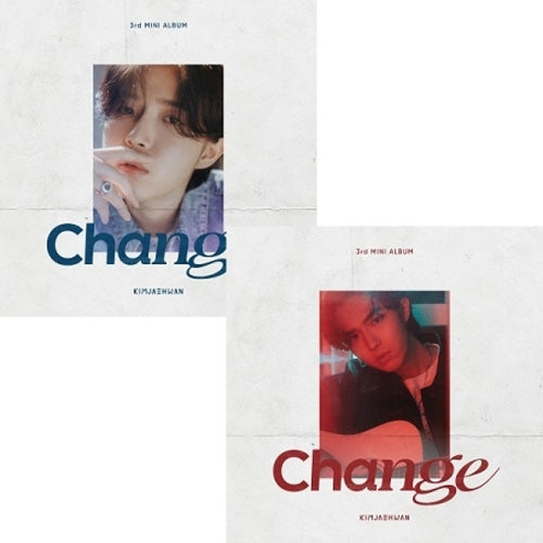 김재환 | KIM JAEHWAN 3RD MINI ALBUM [ CHANGE ]