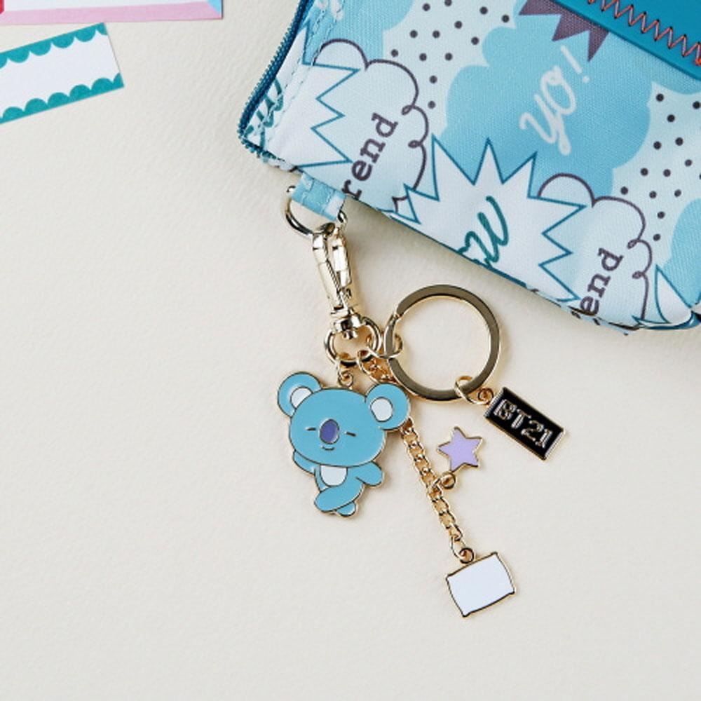 BT21 METAL KEYRING | OFFICIAL MD