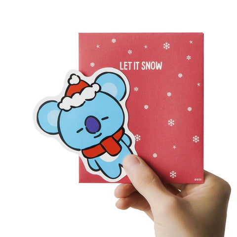 WINTER BT21 [ KOYA ] MESSAGE CARD