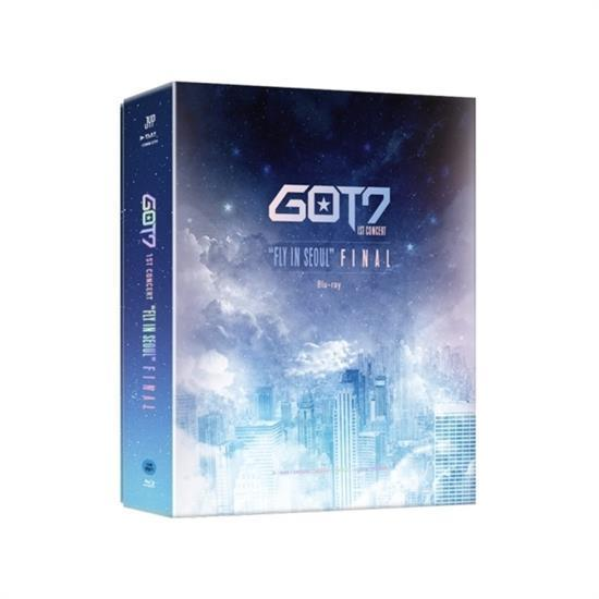 MUSIC PLAZA DVD GOT7 | 갓세븐 | FLY IN SEOUL FINAL - BLU-RAY 1ST CONCERT