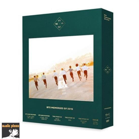MUSIC PLAZA DVD BTS | 방탄소년단 | BTS MEMORIES OF 2016 [ NEW ]