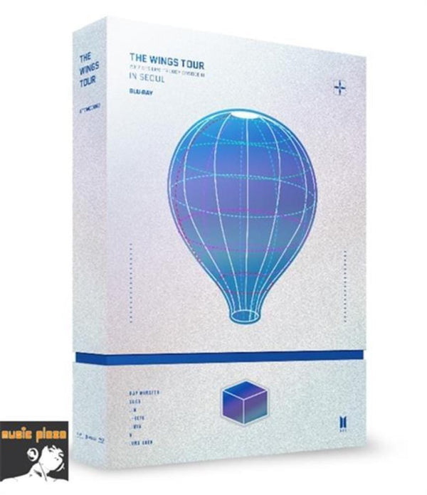 MUSIC PLAZA DVD BTS | 방탄소년단 | 2017 LIVE TRILOGY EPISODE III THE WINGS TOUR IN SEOUL CONCERT BLU-RAY