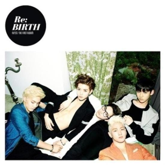 MUSIC PLAZA CD NU'EST | 뉴이스트 1ST ALBUM RE:BIRTH