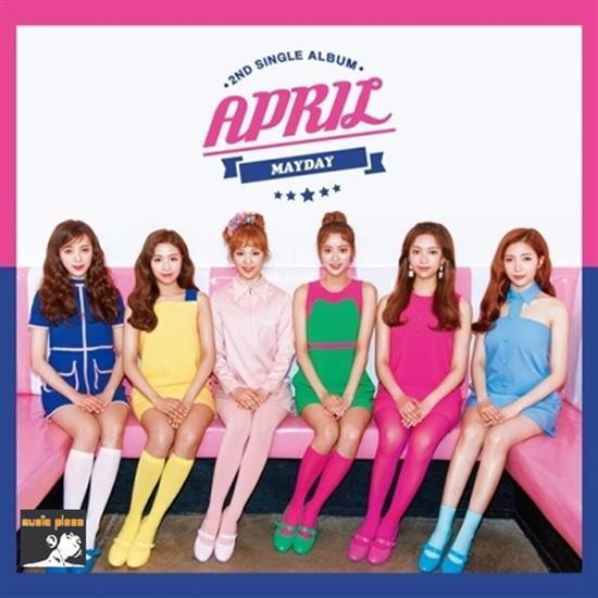 MUSIC PLAZA CD <strong>에이프릴 | APRIL</strong><br/>2ND SINGLE ALBUM<br/>MAYDAY