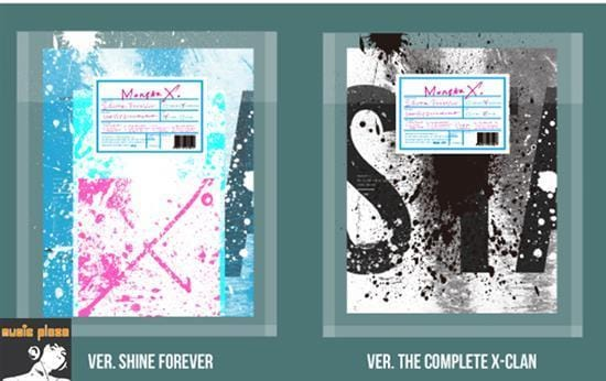MUSIC PLAZA CD Shine Forever Ver. Monsta X | 몬스타 엑스 | The 1st Album Repackage - Shine Forever