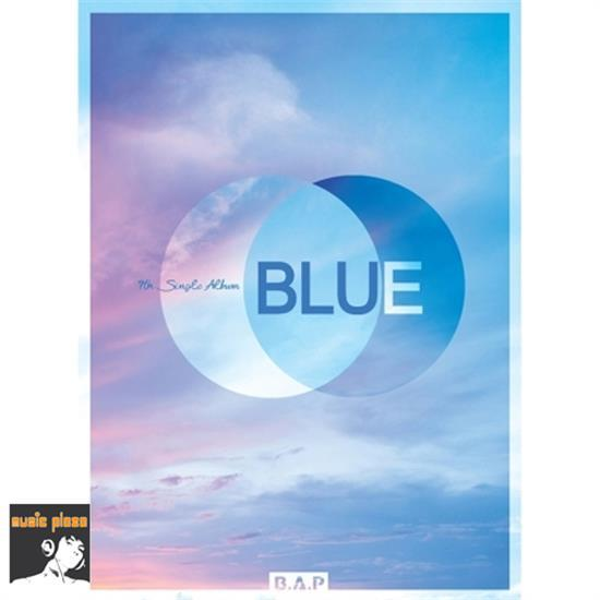 MUSIC PLAZA CD B.A.P | 비에이피 | 7TH SINGLE ALBUM - BLUE<font color=blue> B VERSION</font>