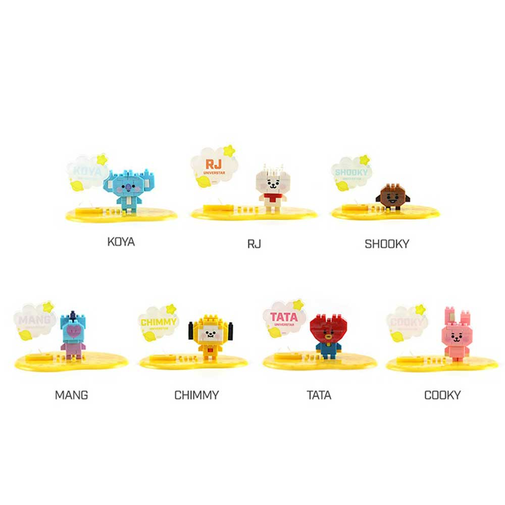 BT21 BABY NANO BLOCK | LIMITED EDITION