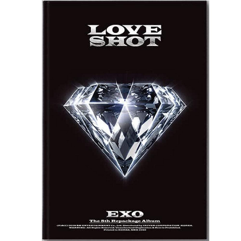 EXO 5TH ALBUM REPACKAGE [ LOVE SHOT ]