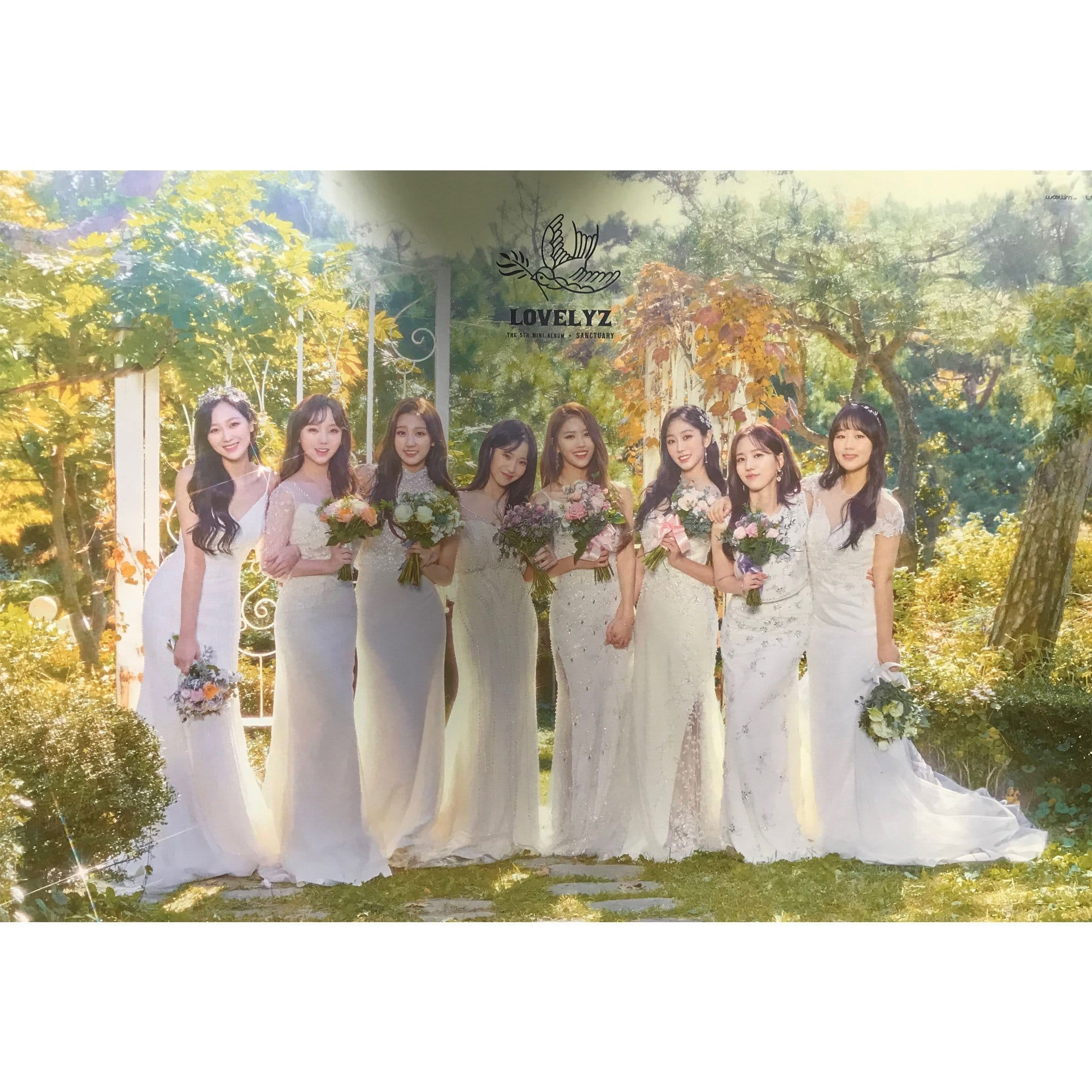러블리즈 | LOVELYZ | 5TH MINI ALBUM - SANCTUARY | POSTER