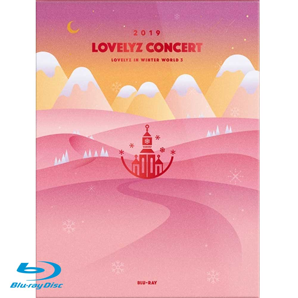 LOVELYZ IN  WINTER WORLD3 BLU-RAY