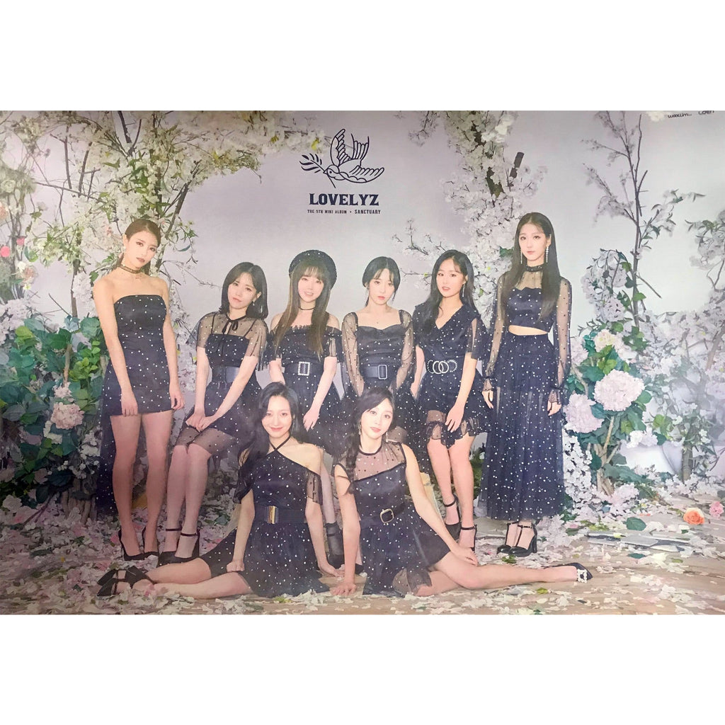MUSIC PLAZA Poster A. ver 러블리즈 | LOVELYZ | 5TH MINI ALBUM - SANCTUARY | POSTER