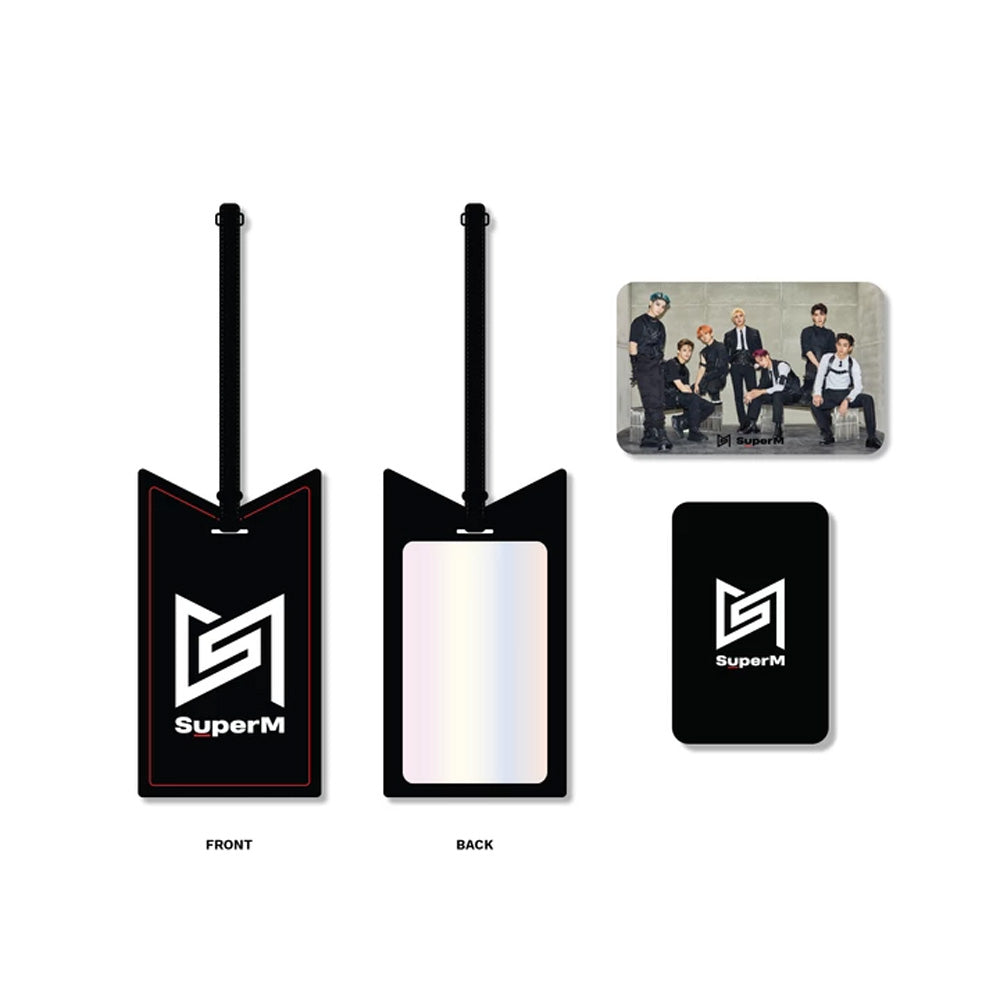 SUPER M LUGGAGE TAG+PHOTOCARD | OFFICIAL MD