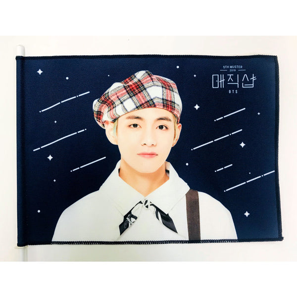 BTS MAGIC SHOP IMAGE FLAG - only Jimin, V availability