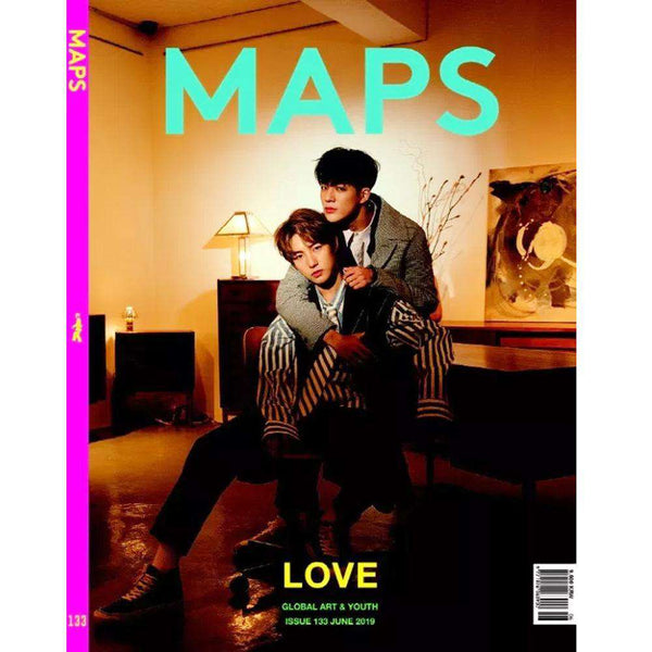 MUSIC PLAZA Magazine 맵스 | MAPS 2019-6 ISSUE 133 [ COVER- JENO& RENJUN ] MAGAZINE