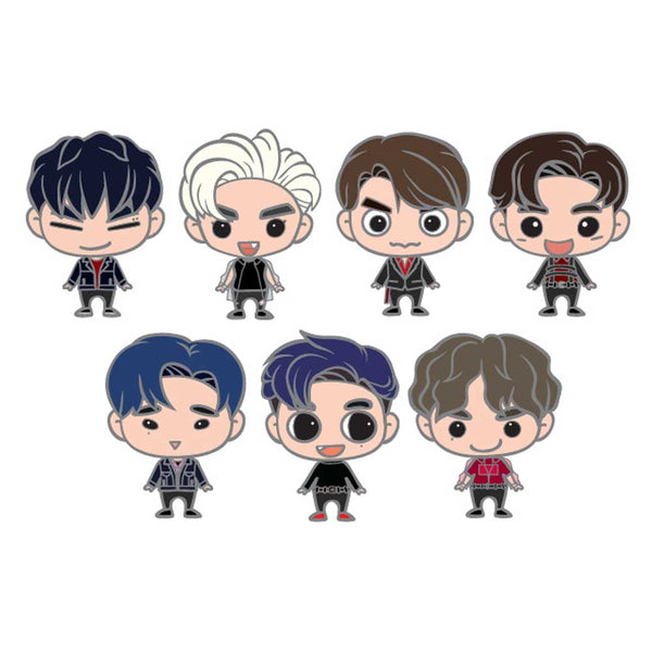 GOT7 [ GOTOON BADGE ] 2019 WORLD TOUR GOODS