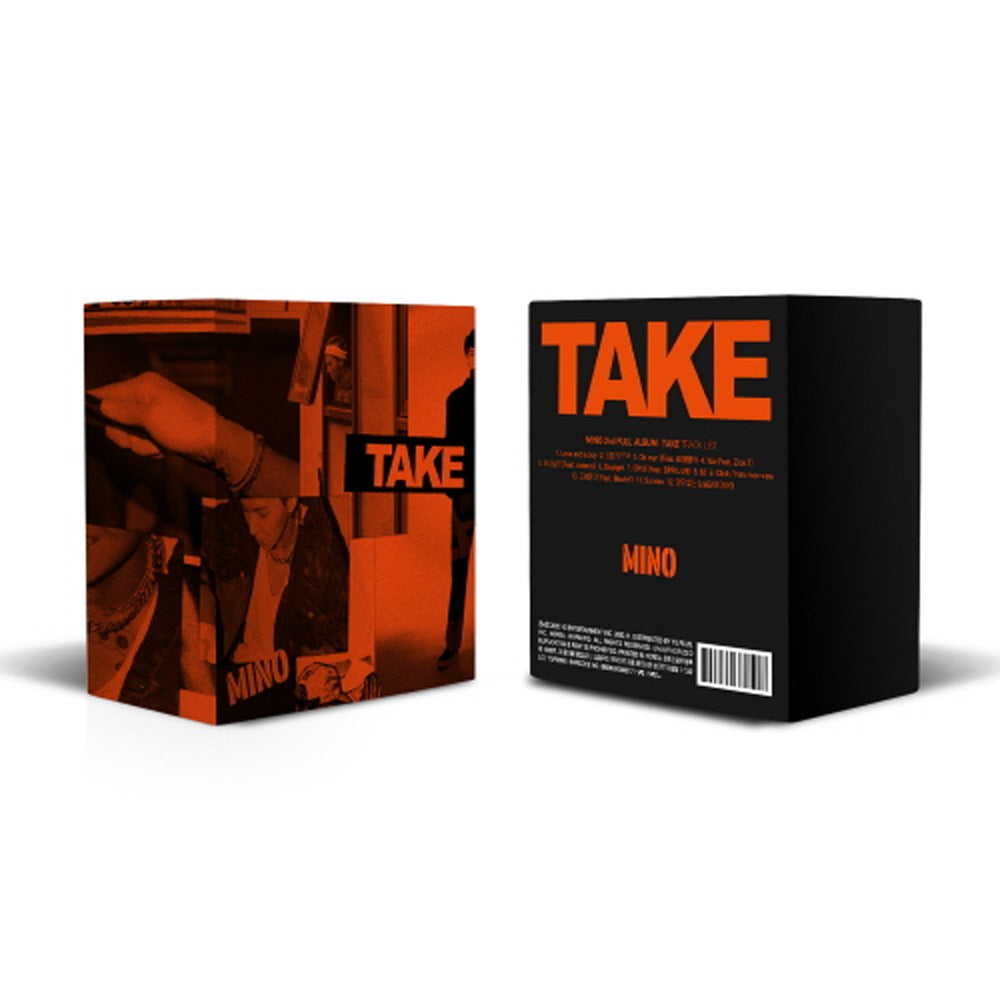 송민호 | MINO 2ND FULL ALBUM [ TAKE ] KIT ALBUM | LIMITED EDITION