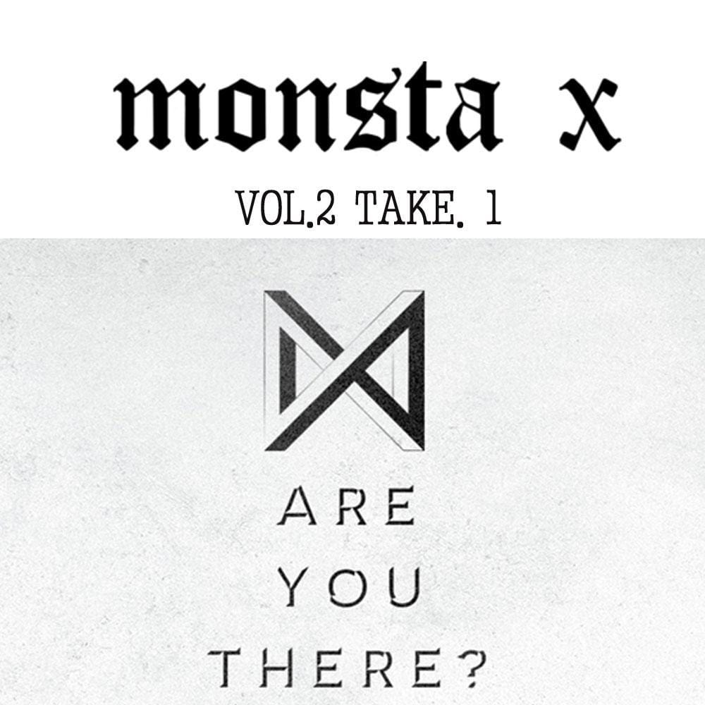 MUSIC PLAZA CD VER.I MONSTA X 2ND ALBUM - TAKE.1 [ ARE YOU THERE? ]