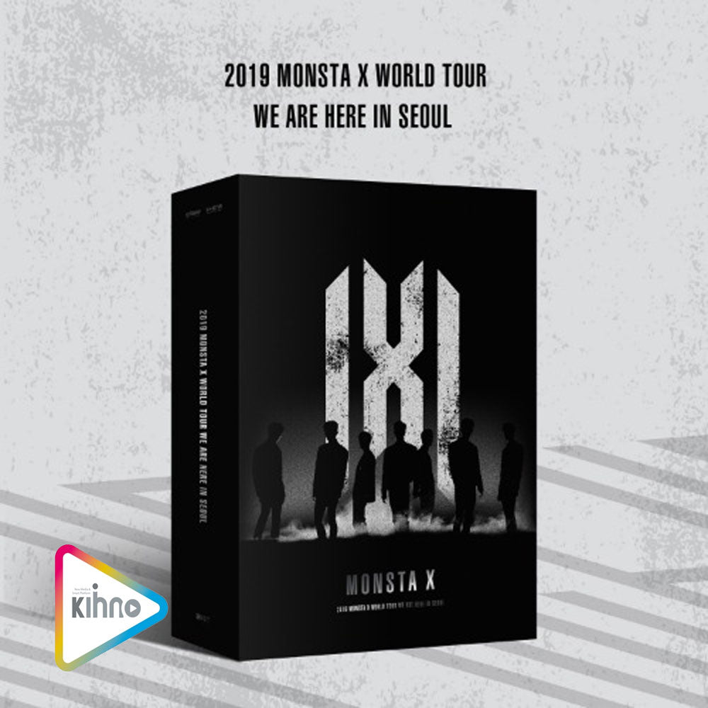 MONSTA X 2019 MONSTA X WORLD TOUR [ WE ARE HERE ] IN SEOUL KIT VIDEO