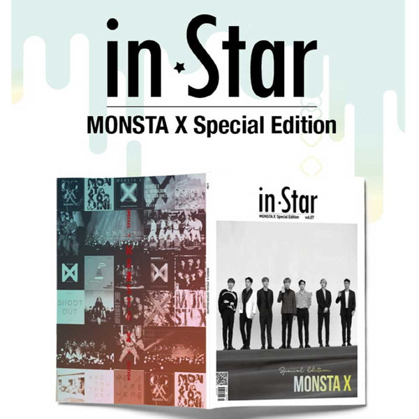 IN STAR 2019-6 [ MONSTA X SPECIAL EDITION ] KOREA MAGAZINE