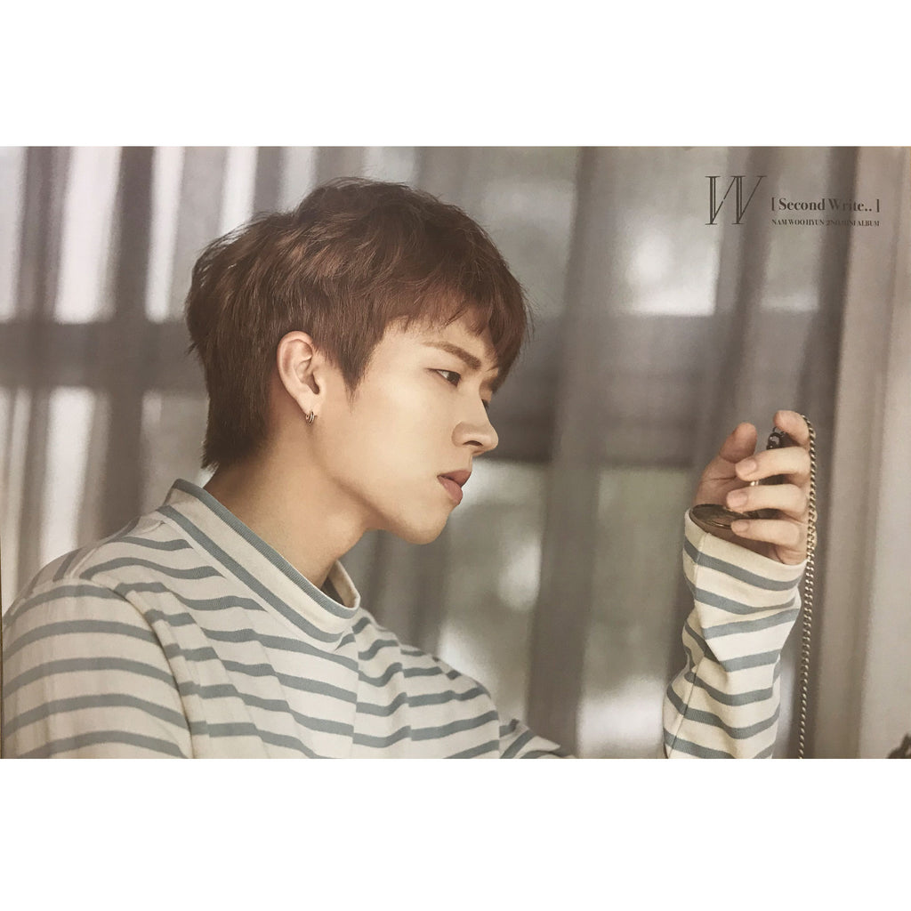 남우현 | NAM WOO HYUN | W | 2ND MINI ALBUM 1 | POSTER ONLY