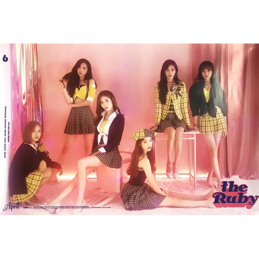 에이프릴 | APRIL | THE RUBY | POSTER ONLY