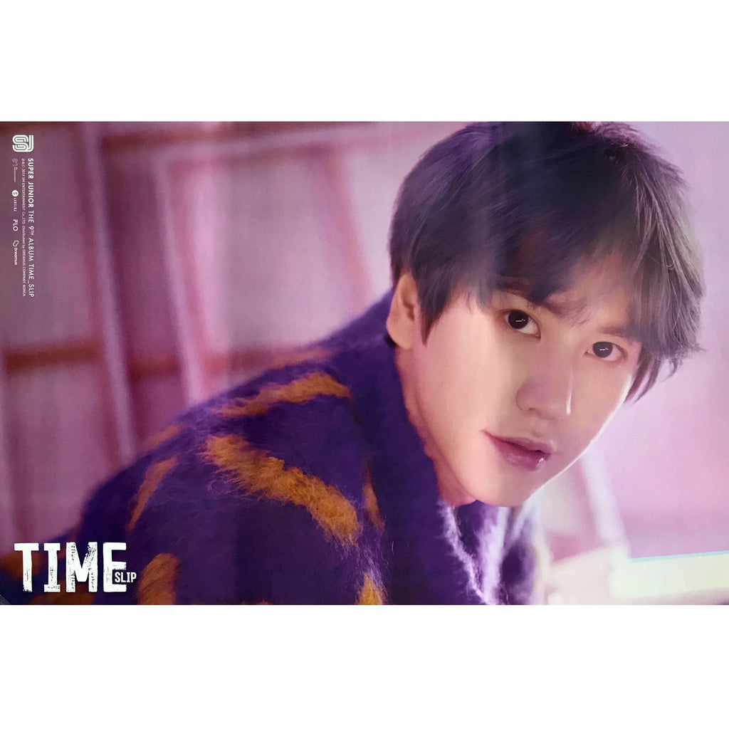 SUPER JUNIOR | 슈퍼쥬니어 | 9TH ALBUM [TIME SLIP] | (KYUHYUN VER.) POSTER ONLY
