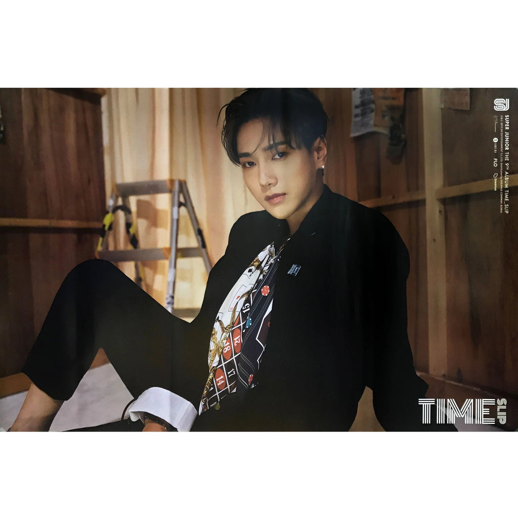 SUPER JUNIOR | 슈퍼쥬니어 | 9TH ALBUM [TIME SLIP] | (YESUNG VER.) POSTER ONLY