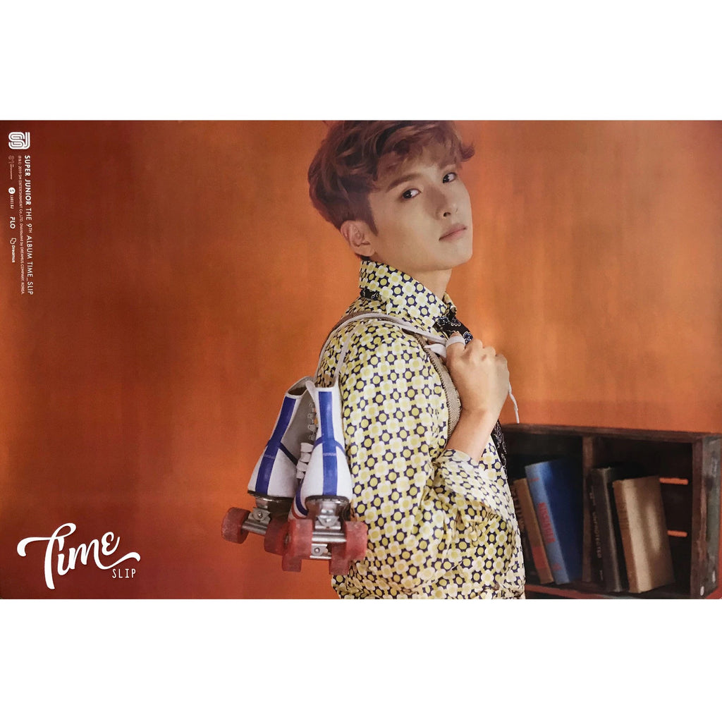SUPER JUNIOR | 슈퍼쥬니어 | 9TH ALBUM [TIME SLIP] | (RYEOWOOK VER.) POSTER ONLY