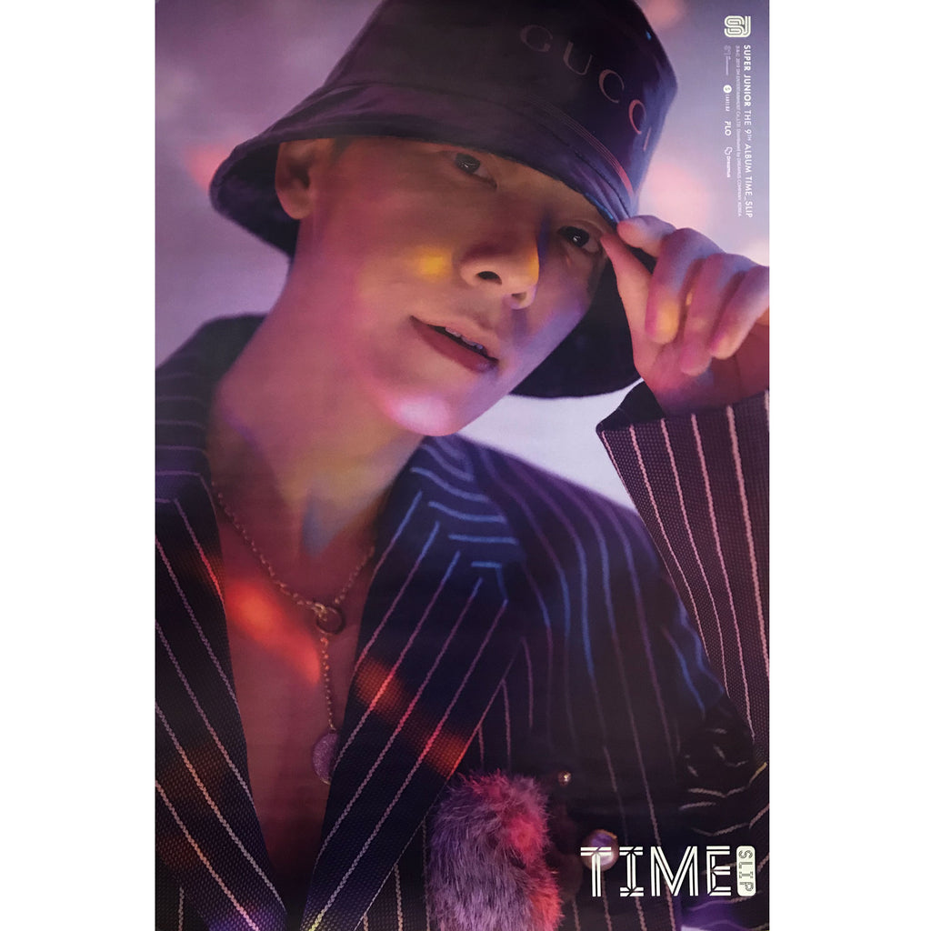 SUPER JUNIOR | 슈퍼쥬니어 | 9TH ALBUM [TIME SLIP] | (DONGHAE VER.) POSTER ONLY
