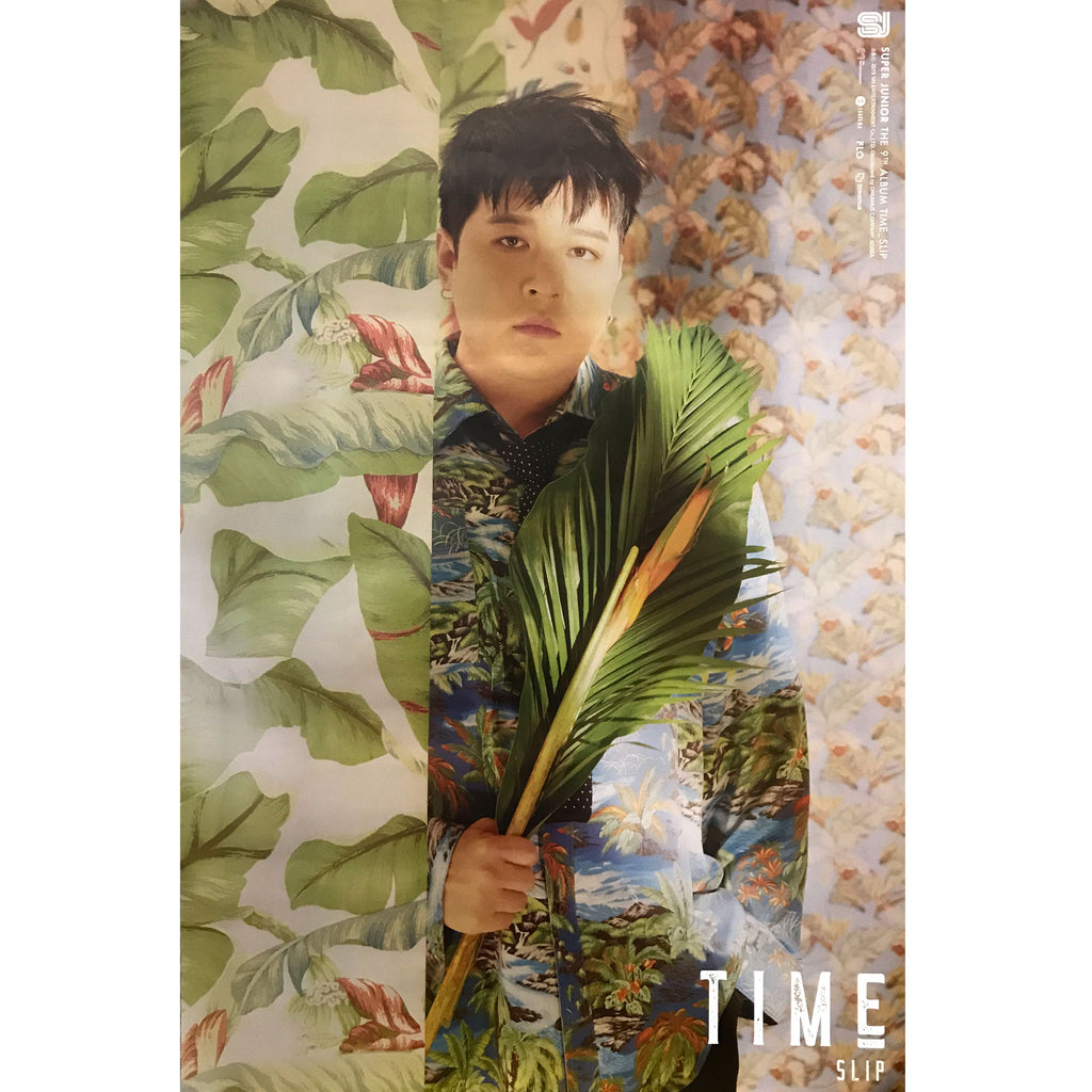 SUPER JUNIOR | 슈퍼쥬니어 | 9TH ALBUM [TIME SLIP] | (SHINDONG VER.) POSTER ONLY