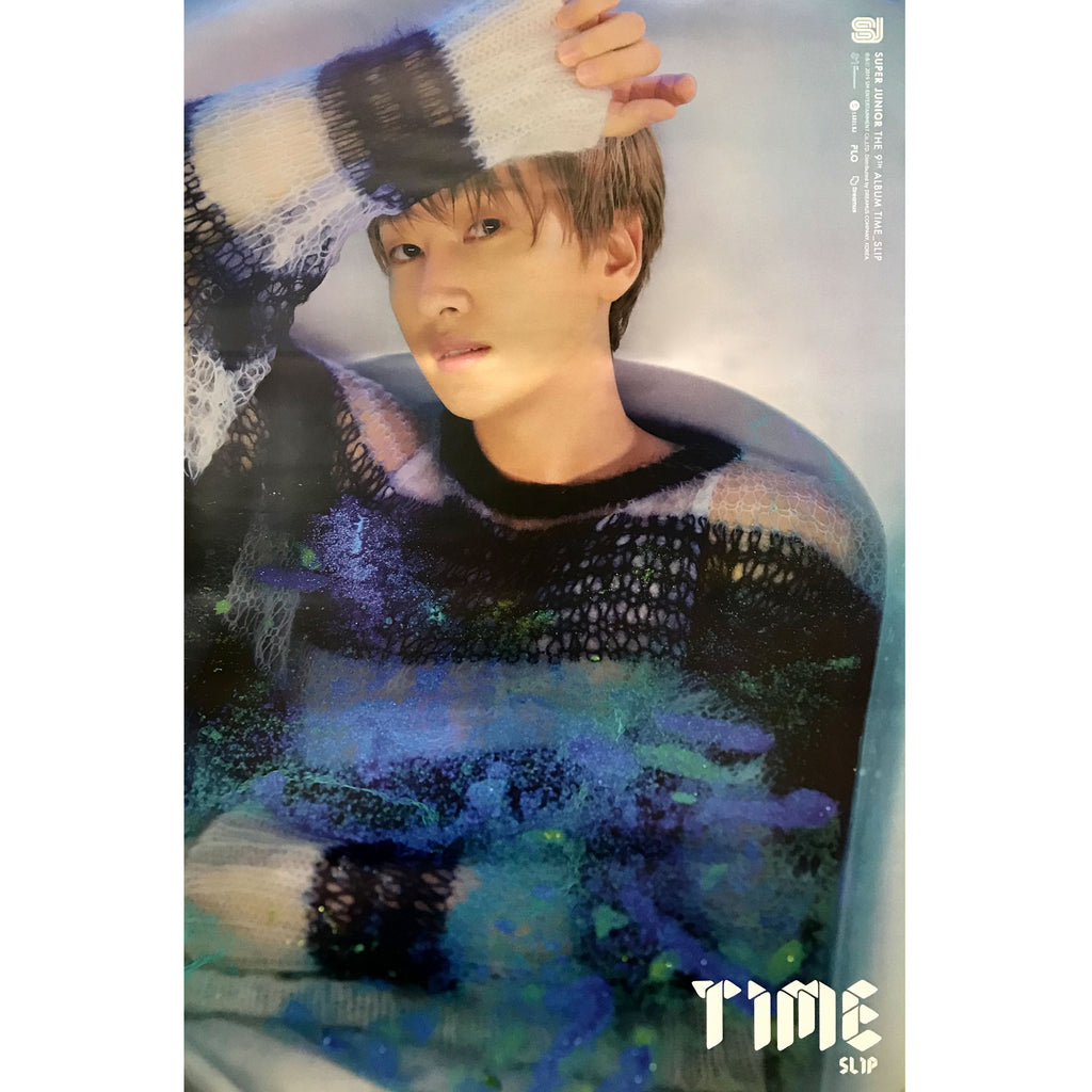 SUPER JUNIOR | 슈퍼쥬니어 | 9TH ALBUM [TIME SLIP] | (EUNHYUK VER.) POSTER ONLY