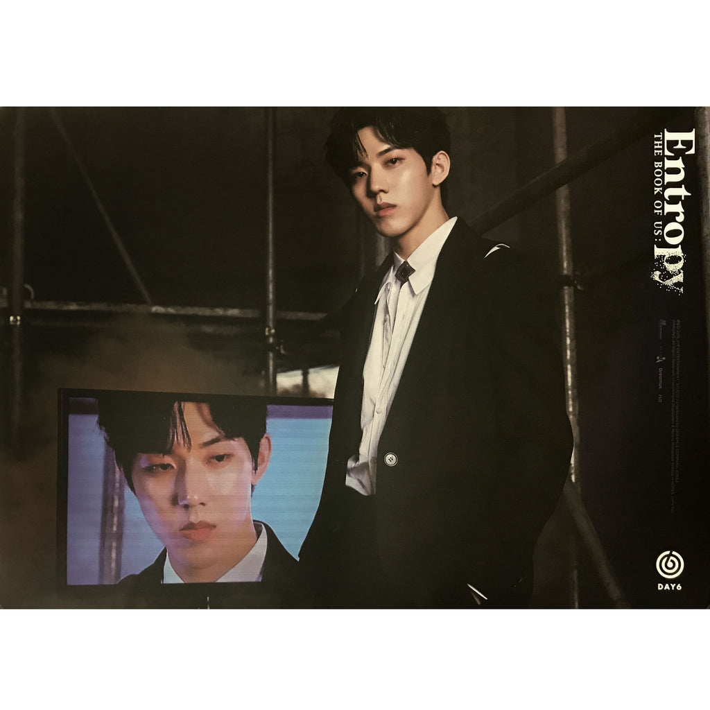 DAY 6 | 3rd Album [The Book of Us : ENTROPY] | (DO WOON) POSTER ONLY