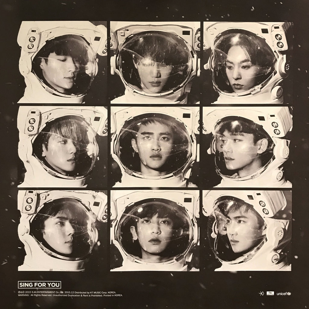 EXO | SPECIAL ALBUM [SING FOR YOU] | POSTER ONLY