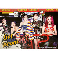 시크릿 넘버 | SECRET NUMBER | 2ND SINGLE ALBUM [GOT THAT BOOM] | POSTER ONLY