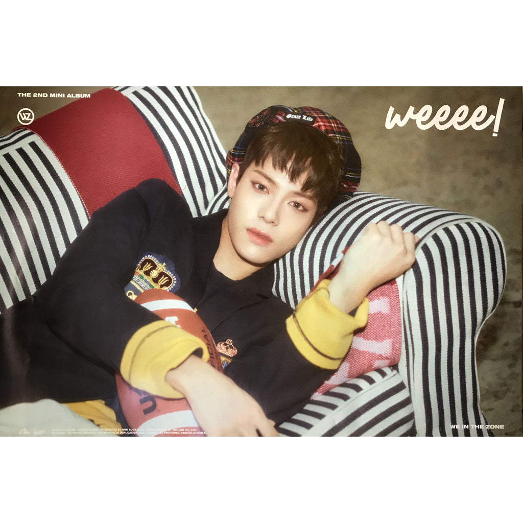 WE IN THE ZONE | 2ND MINI ALBUM [WEEEE!] | (VER. B) POSTER ONLY