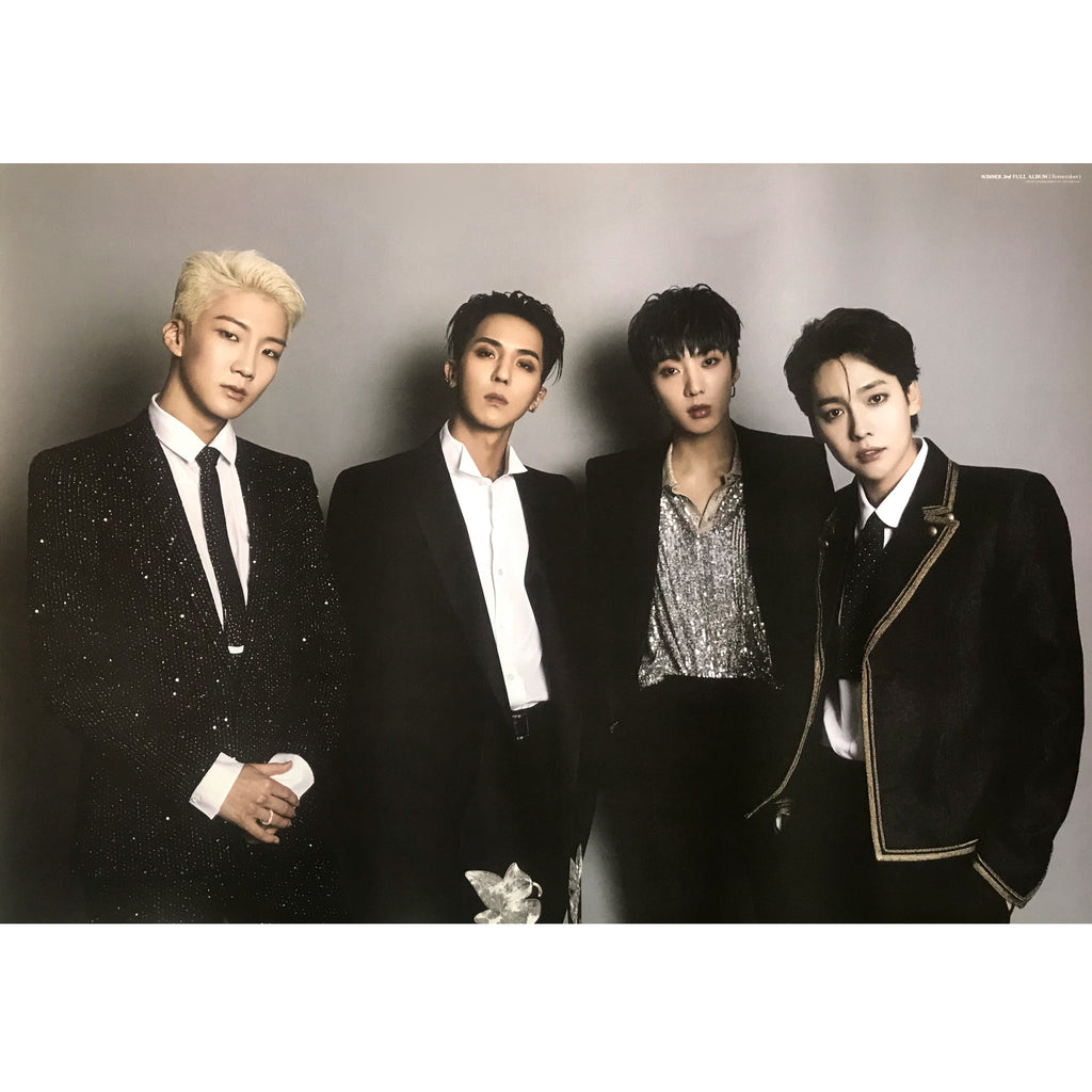 위너 | WINNER | 3RD FULL ALBUM [REMEMBER] | (2 SIDED) | POSTER ONLY