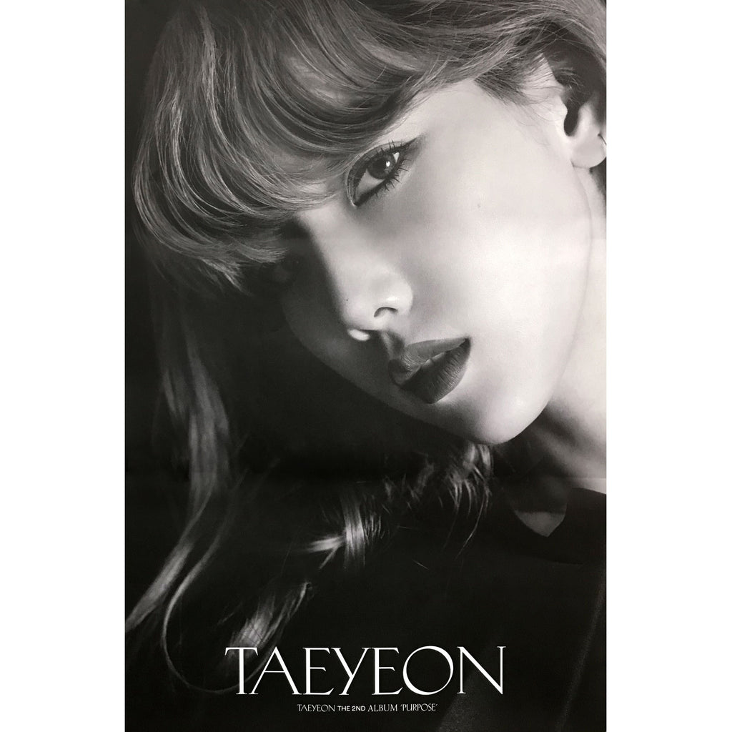 TAEYEON | 2ND ALBUM [PURPOSE] (DELUXE VERSION A) POSTER ONLY