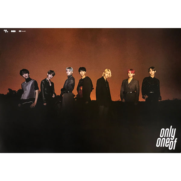 ONLY ONE OF | 2ND MINI ALBUM [LINE SUN GOODNESS] | (VER. B) POSTER ONLY